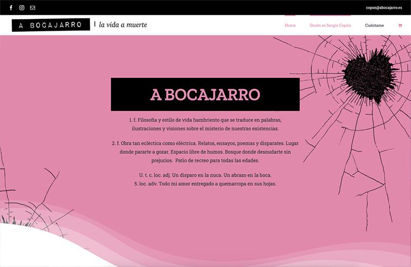 Ejemplo Abocajarro. Servicio de asesoría asistencia digital SEO en Barcelona