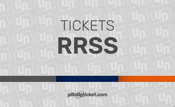Pilla un ticket de asistencia RRSS. Dispones de 3 tickets para recuperar el control de tu actividad en redes sociales.