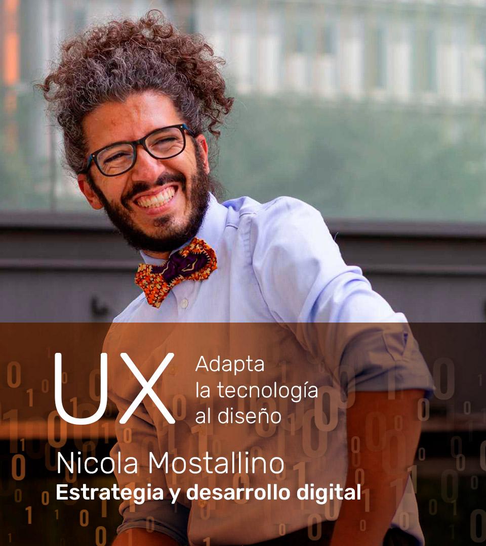 Nicola Mostallino - Estrategia y desarrollo digital. Asesoría web Barcelona